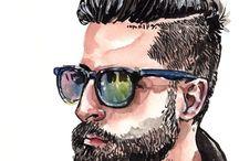 Men's Fashion Illustration:❣️