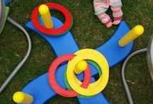 Spiele für Kinder / Hier findet ihr tolle Ideen, was Kinder spielen können.