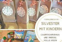 Silvester / So wird eure Silvesterparty für und mit Kindern perfekt