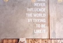 QUOTES / Inspirational, funny and life quotes