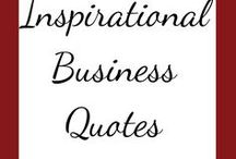 Inspirational Business Quotes / Inspirational Business Quotes