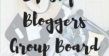 Lifestyle Bloggers Group Board / This is a group board for lifestyle bloggers! Everything from food to travel, faith, to motherhood, fashion to beauty and more is welcome here. This is a community to help bloggers grow! Tell your friends and make sure you're re-pinning everyone else's pins too! If you would like to join, please follow the board, myself, and send an email to theunhurriedwife@yahoo.com with a link to your profile.
