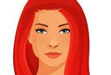 FEMALE • Redhead