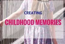 Creating Child Memories / Mom, kids, baby, toddler, memories, crafts, DIY, keepsake, childhood, milestones, pictures, photos, kindergarten, walking, talking, baby firsts, kids memories, childhood memories, first year, birthday, celebration.