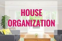 House organization & cleaning / Organize your house. Declutter and get your house clean on a budget.