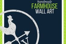 Farmhouse Signs / Farmhouse signs handmade exclusively by Roman Valley Farm for all your farmhouse style needs.