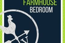 Farmhouse Bedroom / Cozy farmhouse bedroom ideas and inspiration.