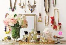 Jewellery Storage Ideas / jewellery storage, jewels, jewelry / by Seven Cherubs