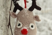 Christmas Ornaments / DIY/ Amigurumi / by Robin