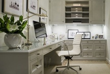 Organizing ~ Home Office / Whether you are running a small business or paying your household bills a well-planned, well-organized home office offers the best of all worlds — convenience, comfort and that professional image that drives us to succeed.  Here are some inspiring ideas, tips and products that will allow you to create a comfortable space that allows you maximum efficiency and minimum stress.