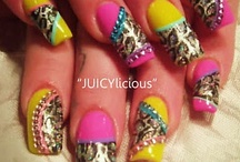 Nails~Mani/Pedi / Nothing makes me feel more like a woman than getting my nails done! / by Beverly Jo Dawson