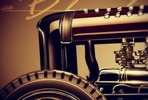 Vintage rides / Hot rods, classic cars and antique cars. Mostly traditional hot rods.  / by Derelict Garage