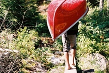 "paddling / ""Everyone must believe in something. I believe I'll go canoeing."" — Henry David Thoreau"