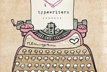 i heart typewriters / type, typewriters