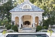 Pool and Pool House Style:  The Well Appointed House / pool house style, chic pools, patio style, pool design, landscape architecture, Well Appointed Pool, Pools, swimming pool -- curated by Melissa Hawks and the team at The Well Appointed House www.wellappointedhouse.com - featuring over 9,000 luxuries for the home. Shop now!  Follow our blog, The Well Appointed House: Living the Well Appointed Life at http://blog.wellappointedhouse.com  Join our Facebook page, too!  https://www.facebook.com/pages/The-Well-Appointed-House/48191054442?ref=hl