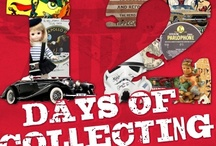 """12 Days of Collecting / We're brimming with holiday cheer and kicking off our version of """"12 Days of Collecting."""" Our elves have gathered a bunch of unique and rare collectibles to share with you!"""