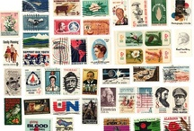 """Stamp Collection / To all philatelists out there, this board is for you!  We've compiled a nice sampling of rare and unique stamps that could be the """"pièce de résistance"""" in any stamp collection!"""