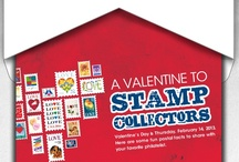 For the Love of Stamps: Valentine's Day for Stamp Collectors / There's something romantic about philately—after all, how would you mail a love letter or Valentine without a stamp?  We've gathered some of our favorite love stamps, letters, and vintage Valentines just in time for February 14th.