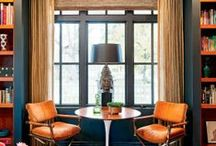Masculine dining rooms