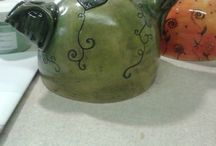 Ceramics - my creations / What I do on a Thursday morning.....
