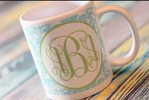 Well Appointed Monogrammed Items for the Home / by The Well Appointed House by Melissa Hawks
