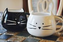 Crazy Cat Lady (=^・ω・^=) / Who's a crazy cat lady? Meow! / by Hello Anne Marie
