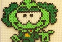 Perler Bead Designs / Different types of perler bead designs / by Ashlee Karnes