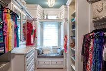 Walk-in closets I love
