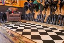 ✜ Floorcloths ✜ / By Lisa Curry Mair of Canvasworks Designs