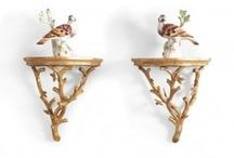 Wall Brackets & Plate Holders / Showcase your favorite wall plates and decorative accessories in style.