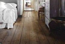 Rustic wooden floors