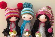 Amigurumi doll patterns