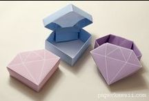 Paper crafts / Inspirations and tutorials for creating beatiful stuff out of paper. [Contents: paper crafts, origami, paper related DIY]