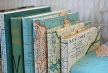 Travel Journal / Travel journal ideas, project life, photo album, scrapbook, souvenirs, journals