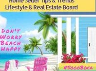 HomeSeller Trends & Tips / Florida home sellers are always in the need for timely trends and tips when they are getting their home ready for market. If you would like to be added to this board send this #SoooBoca bee an email at michelebeeboca@gmail.com #southflorida #florida #bocaraton #realestate #inteiordesign #architecture