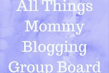 All Things Mommy - Blogging Group Board / Hello to all my fellow Mommy bloggers! This page is a place for us to get our posts and pages out there while supporting one another! For an invite, follow my personal page Pinterest.com/AntiSocialMommy and email me a request to  Terri@AntiSocialMommy.com! There is no pin limit. I just ask that you try to share others posts as well. Let's help each other out since that's what group boards are all about. Vertical pins only. Thanks Mamas!!