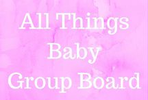 All Things Baby - Group Board / Group board for anything and everything concerning babies. Pregnancy, activities, feeding, development, and all the other cute stuff!!! To join, follow me first at Pinterest.com/antisocialmommy and then send me an email at terri@antisocialmommy.com. Vertical images only and try to share another pin when you pin. We're all mama bloggers so help one another out!!