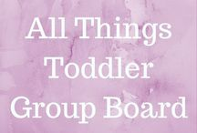 All Things Toddler - Group Board / Group board for anything and everything concerning toddlers. Activities, food, learning, etc!!! Vertical images only and try to share another pin when you pin. We're all mama bloggers so help one another out!! This board is no longer accepting additional collaborators