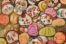 """Dia de los Muertos / """"Don't be afraid of what you can't see....."""" Oingo Boingo"""