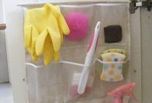 Organizing/cleaning and other helpful tips / by Abela