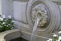 Water in garden