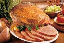 Smoked Hams (Products) / Ozark Hickory Smoked Petit Jean Hams.