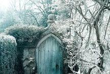 Garden gates love