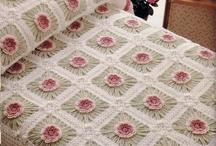 Крючком: покрывала и пледы / Crocheted bedspreads & blanket