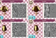 Animal Crossing: New Leaf QR Codes / Some of our tees and hoodies in Animal Crossing! Enjoy!
