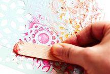 Craft tutorials - stencils