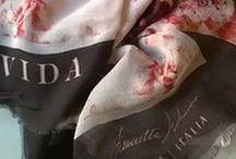 Vida / Scarves Collection by Simonetta De Simone for Vida