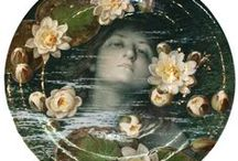 Ophelia / There's rosemary, that's for remembrance. Pray you, love,  remember. And there is pansies, that's for thoughts. There's fennel for you, and columbines. There's rue for you,  and here's some for me. We may call it herb of grace o' Sundays....