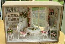 Миниатюра / Roombox, D.I.Y. Minatures, dollhouse