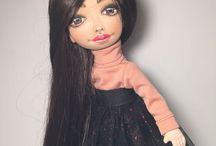 Куклы из ткани / Кукла текстильная
